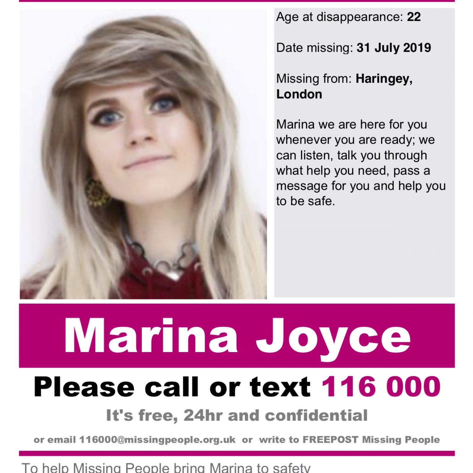Marina Joyce è scomparsa 3
