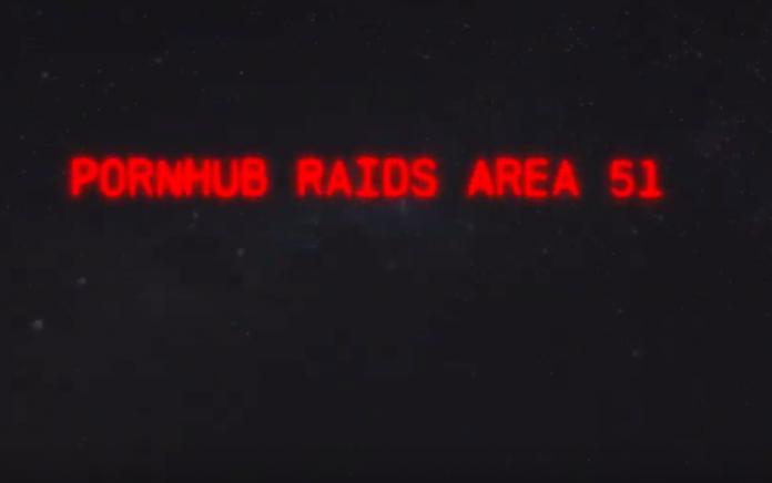 PornHub ha creato la parodia Porno del Raid all'area 51 7