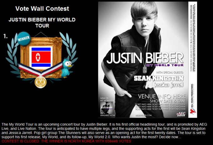 """Project North Korea is Best Korea"" - Justin Bieber in Corea del Nord 4"