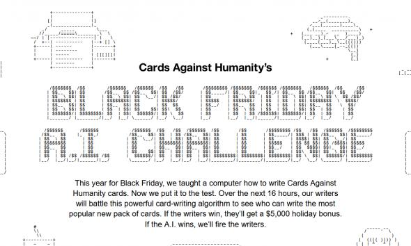 Cards Against Humanity e la folle lotta contro l'IA 2