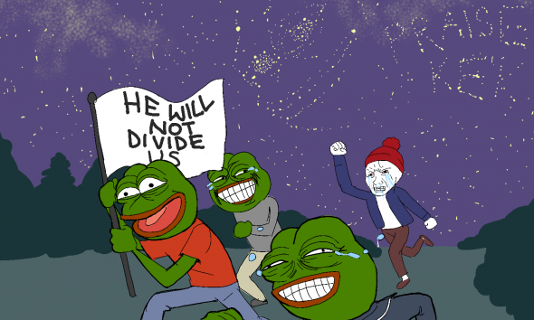 He will not divide us thumbnail